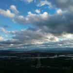 کانبرا از فراز چشم انداز Mount Aislie