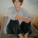 پرتره Kate Grenville، رمان نویس استرالیایی در موزه ملی پرتره